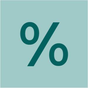 Ikons FAQ8 Prozentzeichen