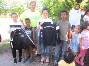 Sportartikel für Flüchtlingskinder (3)