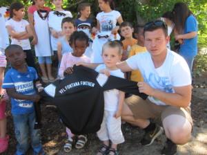 Sportartikel für Flüchtlingskinder (4)